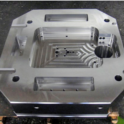 Precision Plastic Mold zgjedhura Image
