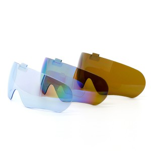 Colorful Sports Goggles Lens, Conjoined Sports Glasses Lenses, Cross-country Spectacle Lens